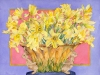 Daffodils in Rabbit Vase