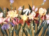 Irises on Gold